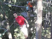 Charade aventure : parcours dans les arbres