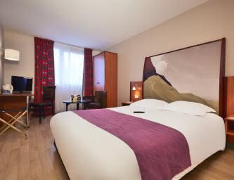 Chambre - Hôtel Kyriad La pardieu