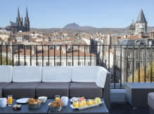 Terrasse - Best western plus hôtel littéraire Alexandre Vialatte